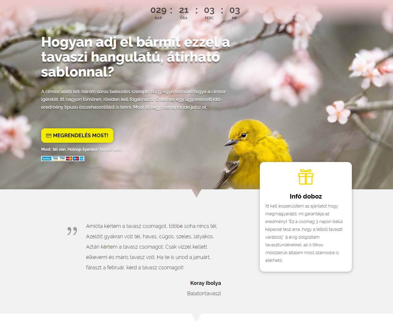 Letötés: Divi Layout | Speed and Sell 8