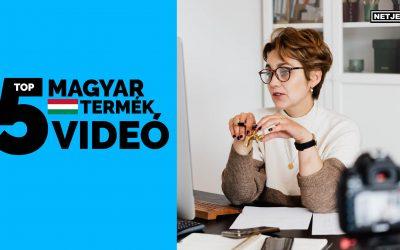 Top 5 magyar termékvideó